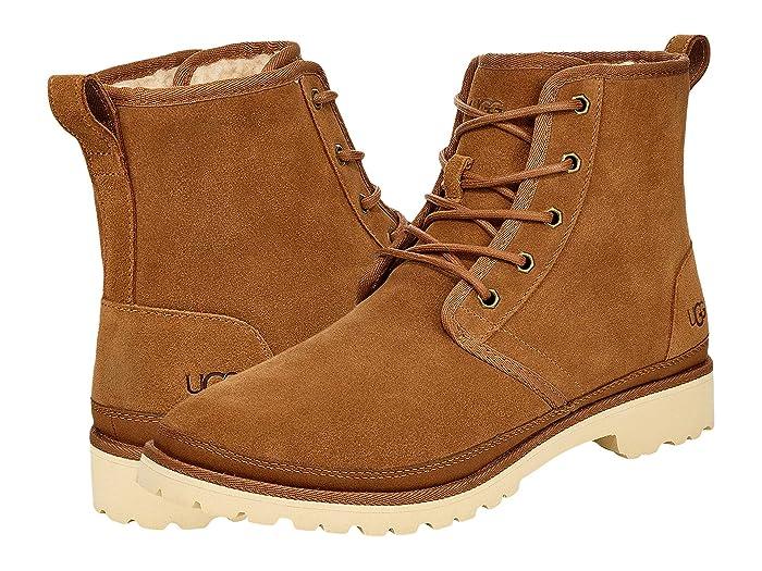 Men's 1950s Shoes Styles- Classics to Saddles to Rockabilly UGG Harkland Chestnut Mens Shoes $179.95 AT vintagedancer.com