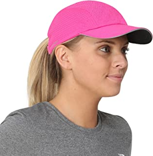 Race Day Performance Running Hat | The Lightweight, Quick Dry, Sport Cap for Women - 7 colors