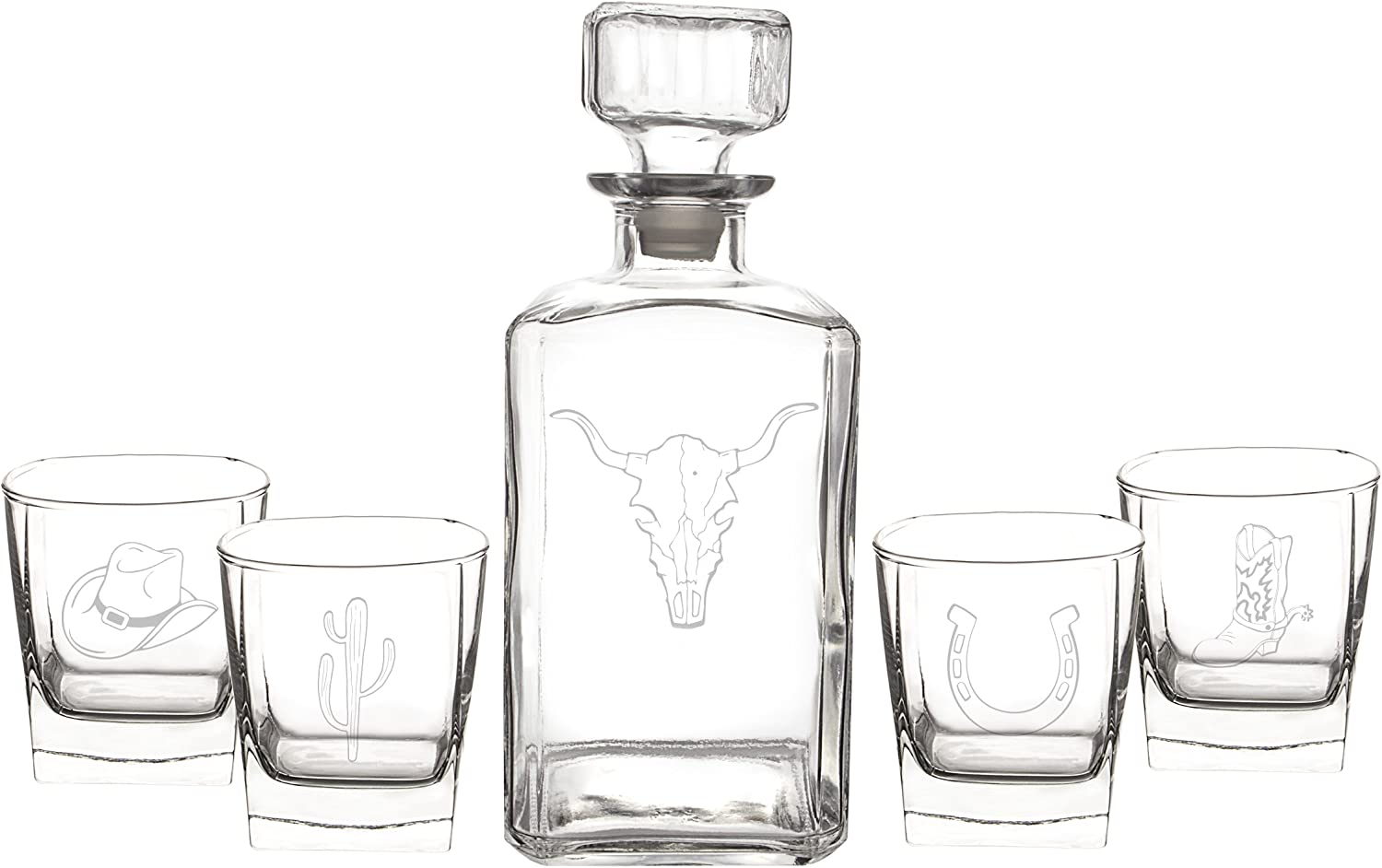 Cathy's Concepts Western 5pc. Decanter Set