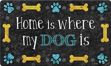 Toland Home Garden 800507 Dog Home 18 x 30 Inch Decorative, Doormat