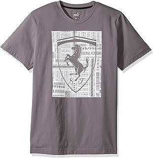 PUMA Mens T-Shirt, Soft Pink