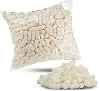 Biodegradable EPS Packing Peanuts Off-White Color Recyclable Great for Cushioning Fragile Items by MT Products - (Approxim...