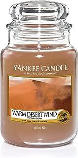 Yankee Candle 5038581033716 jar Large Warm Desert Wind YSDWDW, one Size, …