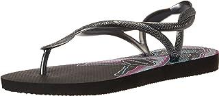 dcf61cbd0bd5 Havaianas Women s Luna Print Sandal Black