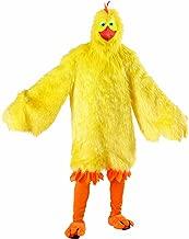 Seasons Deluxe Chicken Costume Orange/Yellow