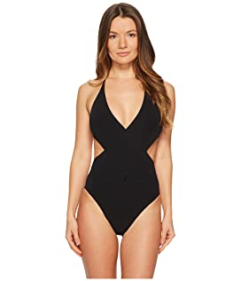 Solid Wrap One-Piece