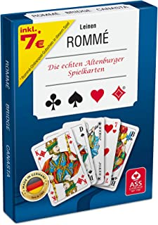 ASS Altenburger 22570073 – Romme mit Leinenprägung, Kartenspiel