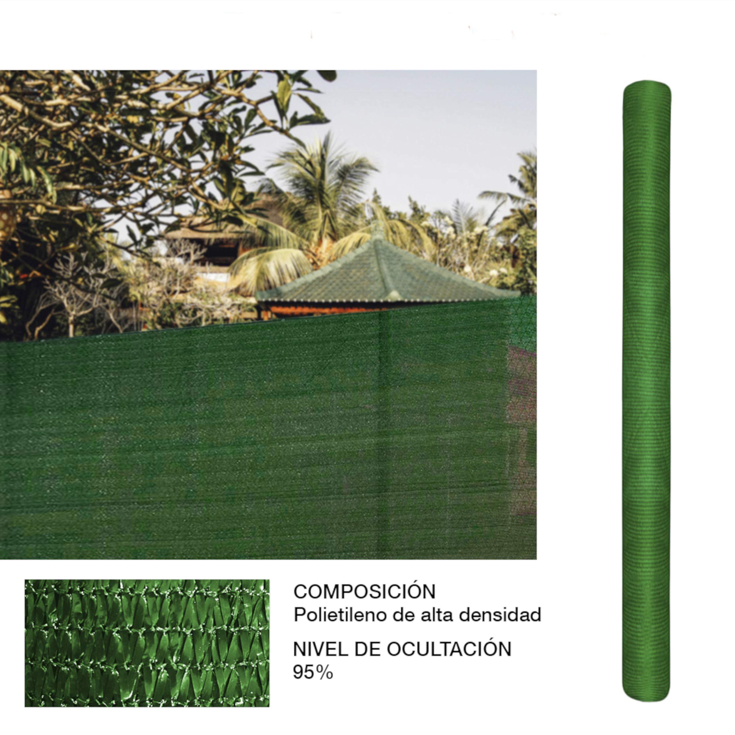 Rollo de Malla de sombreado Verde 1x5 Metros: Amazon.es: Jardín