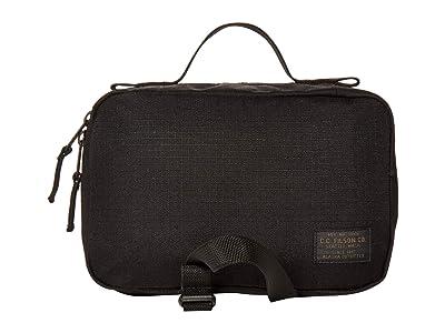Filson Ripstop Nylon Travel Pack (Black) Handbags