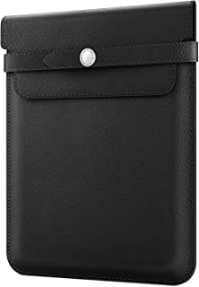 Fintie 9-11 Inch Tablet Sleeve with Stylus Holder, Protective Cover Case Compatible with iPad 10.2, iPad Air 10.5, iPad Pro 11, iPad 9.7 6th/5th Gen, iPad Pro 10.5, Samsung Tab A 10.5/S4 10.5, Black