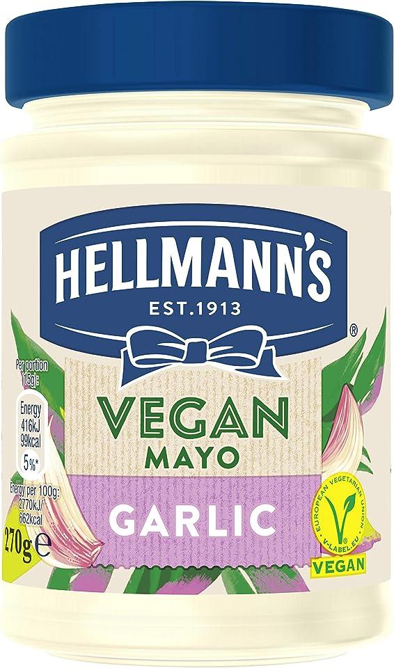 Hellmann's Vegan Garlic Mayo, 270g