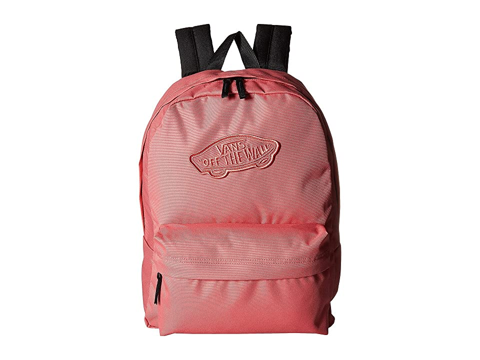 461a8a96269 Vans Realm Backpack (Desert Rose) Backpack Bags