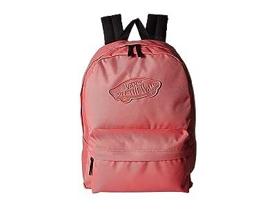 Vans Realm Backpack (Desert Rose) Backpack Bags