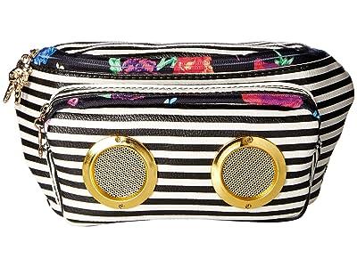 Betsey Johnson Speak Up Belt Bag (Stripe) Bags