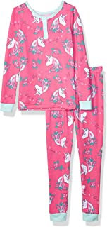 Girls' Big Tight Fit Pajama Set