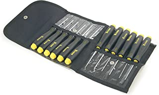 Titan Tools 17612 12-Piece Precision Pick & Screwdriver Set