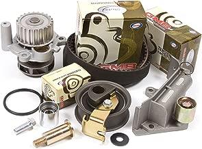 Fits 01-06 Audi Volkswagen Turbo 1.8 DOHC 20V Timing Belt Kit w/Hydraulic Tensioner Water Pump