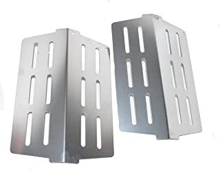 Weber 65505-2PK Heat Deflector fits most 2011 Genesis and newer grills (replacing 62756 and 7622).
