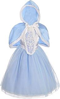Dressy Daisy Girls' Princess Cinderella Dress Up Halloween Party Costumes Dresses