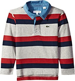 Striped Rugby Shirt (Toddler/Little Kids/Big Kids)