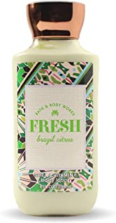 Bath and Body Works Fresh Brazil Citrus Lotion 8 Ounce 2017 Newer Version