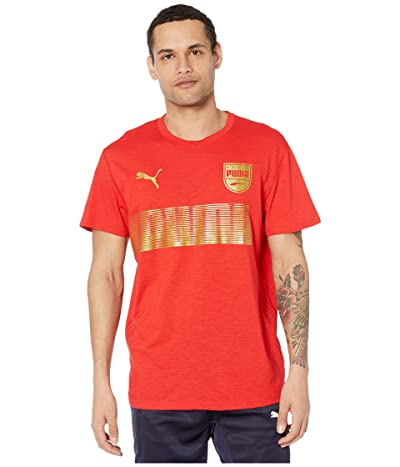 PUMA Graphic Tee (High Risk Red) Men