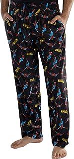 Marvel Comics Hombre de Spiderman Comic Allover Imprimir Loungewear Pajama Pants