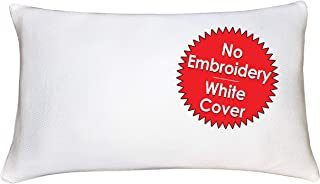 My Perfect Dreams Bamboo Adjustable Shredded Memory Foam Pillow - Sleep Like A Baby Hypoallergenic and Dust Mite Resistant White Bamboo Cover Standard