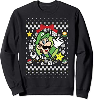Best luigi christmas sweater Reviews