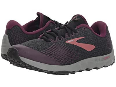 Brooks PureGrit 7 (Black/Purple/Grey) Women