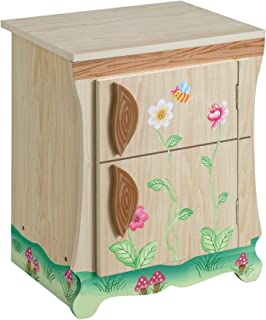 Teamson Kids - Enchanted Forest Wooden Play Kitchen - Fridge