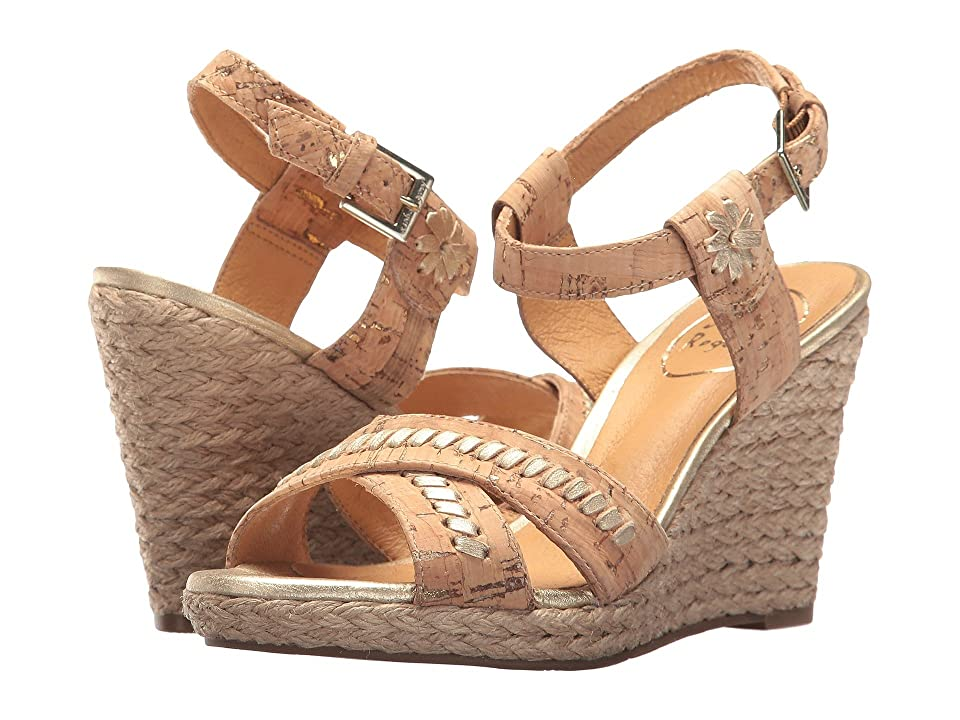 Jack Rogers Abbey (Natural/Gold) Women