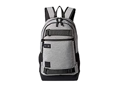 RVCA Curb Backpack (Heather Grey) Backpack Bags