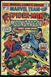 Marvel Team-Up #44 30 CENT VARIANT FN- OW Pages No MVS Spider-Man & Moondragon
