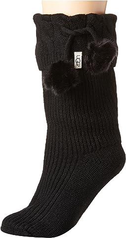UGG Pom Pom Short Rain Boot Socks