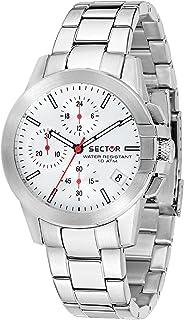 SECTOR Orologio Cronografo Quarzo Donna con Cinturino in Acciaio Inox R3273797502
