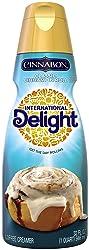 International Delight Cinnabon Classic Cinnamon Roll Coffee Creamer Quart, 32 Ounce
