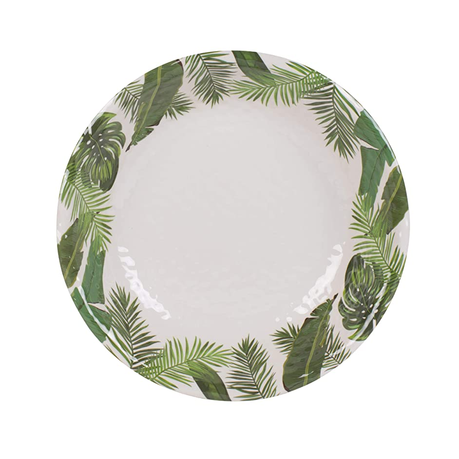 Fitz and Floyd 5247288 Melamine Serving Bowl, 13.75-inch, Tropical Fun