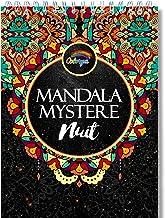 Livre de Coloriage Adulte Fond Noir: Coloriage Mystere Mandala Adulte de Nuit, le Premier Cahier de Coloriage Mystère Adul...