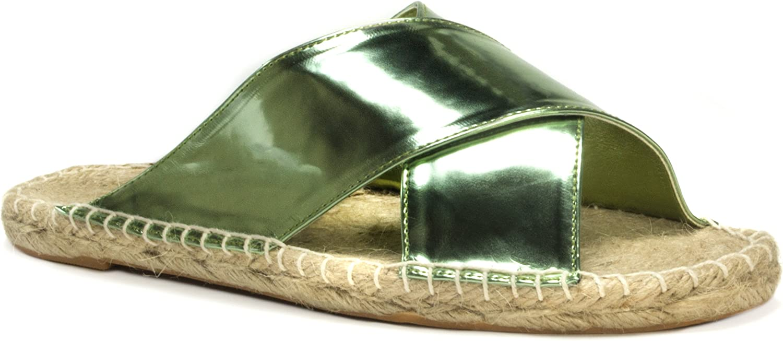 MUK LUKS Womens Women's Misty Sandals Flat Sandal