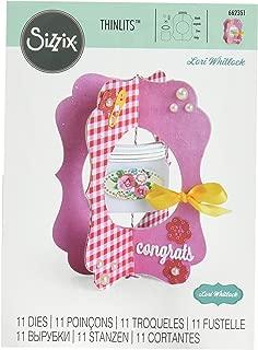Sizzix LWhitlock LW Thinlits Die Jar Card