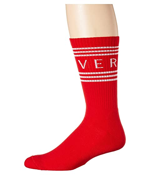 Versace Versace Text Socks