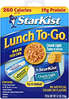 StarKist Lunch To-Go Chunk Light Pouch - Mix Your Own Tuna Salad - (Packaging May Vary) (Pack of 12)