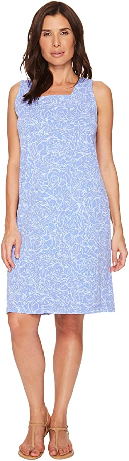 Waves Square Neck Dress