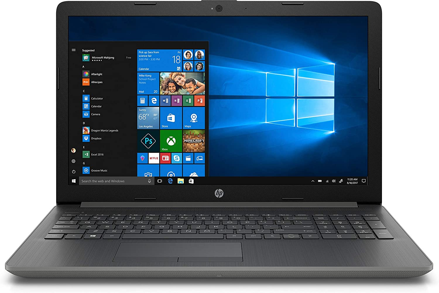 HP Touchscreen Laptop PC Intel Core 8GB Limited time sale 1TB DDR4 HDD i3-7100U OFFicial store