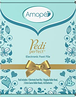 Amope Pedi Perfect Electronic Foot File Value Set