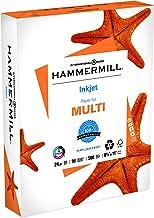 Hammermill Paper, Inkjet Multipurpose Paper, 8.5 x 11 Paper, Letter Size, 24lb Paper, 96 Bright, 1 Ream / 500 Sheets (105050R) Acid Free Paper