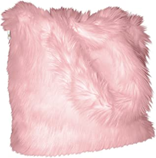 Luxurious Signature Fluffy Fur Weekender Bag Baby-pink Large Overnight Duffel, One Size