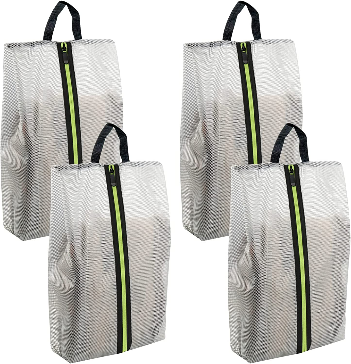 Shoe Bags for Travel - Waterproof Large Austin Mall Pouches Visible Sto store