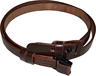 German Mauser K98 WWII Rifle Leather Sling